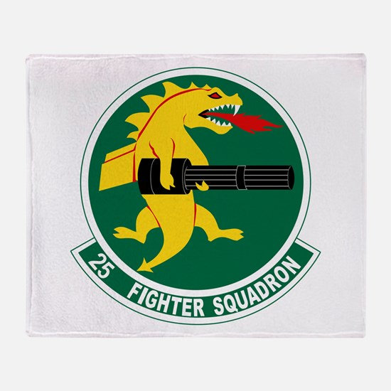 Cute Squadron Throw Blanket