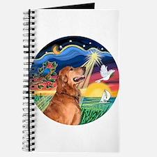 Wish/Believe - Golden Retriev Journal