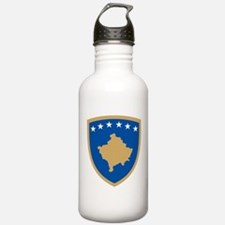 Kosovo Coat of Arms Water Bottle