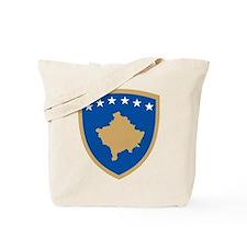 Kosovo Coat of Arms Tote Bag