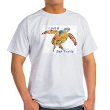 LOVE A Sea Turtle T-Shirt