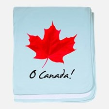 Unique Canadian baby blanket