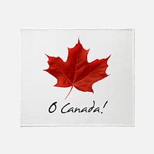 Cute Canadian Throw Blanket