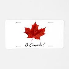 Unique Canadian Aluminum License Plate