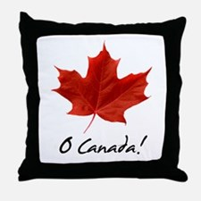 Unique Canada day Throw Pillow