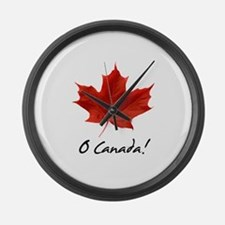Unique Canada Large Wall Clock
