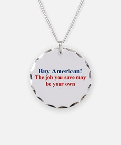 Buy American Necklace
