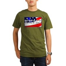 """God Bless Our Troops"" T-Shirt"