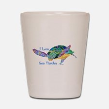 Beautiful Sea Turtle Shot Glass