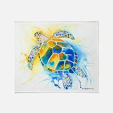 More Sea Turtles Throw Blanket