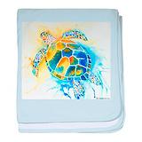 Sea turtle Blanket