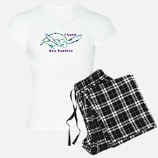 Sea Turtle Love Designs Pajamas
