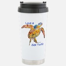 LOVE A Sea Turtle Travel Mug