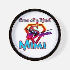 S MIMI Wall Clock