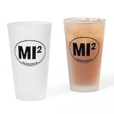 Mackinac Island Euro Design Drinking Glass