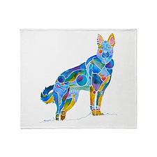 German Shepherd Dog Gifts Throw Blanket