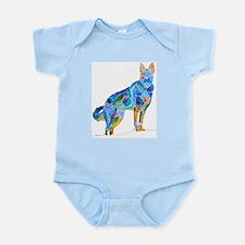 German Shepherd Dog Gifts Infant Bodysuit