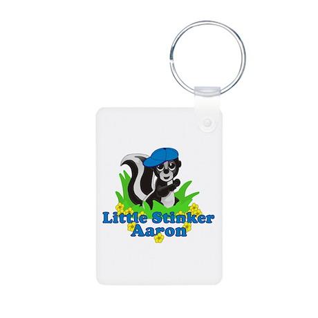 Little Stinker Aaron Aluminum Photo Keychain