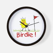 Birdie! Wall Clock