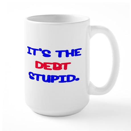 Debt Large Mug