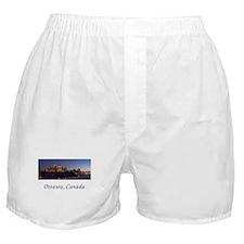 Ottawa Skyline Boxer Shorts