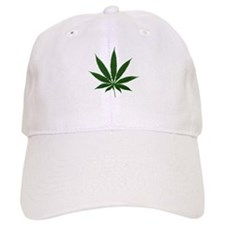 Simple Marijuana Leaf Baseball Cap