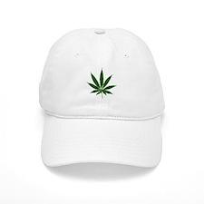 Simple Marijuana Leaf Hat