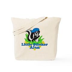 Little Stinker Alan Tote Bag