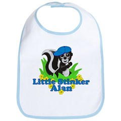 Little Stinker Alan Bib