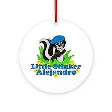 Little Stinker Alejandro Ornament (Round)