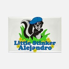 Little Stinker Alejandro Rectangle Magnet