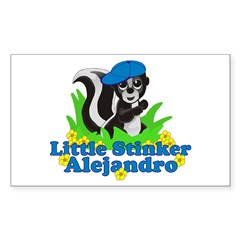 Little Stinker Alejandro Decal