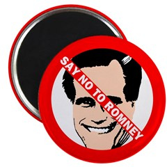 Say No to Romney Fridge Magnet