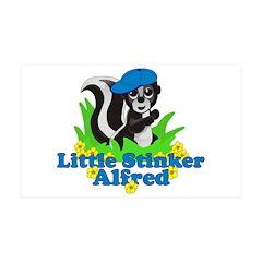 Little Stinker Alfred 38.5 x 24.5 Wall Peel