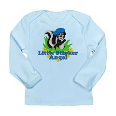 Little Stinker Angel Long Sleeve Infant T-Shirt