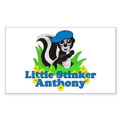 Little Stinker Anthony Sticker (Rectangle)