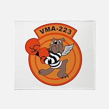VMA-223 Throw Blanket