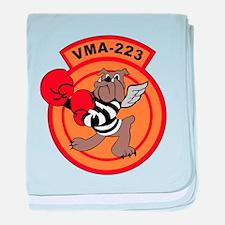 VMA-223 baby blanket