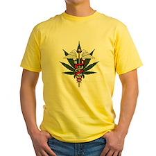Medical Marijuana Caduceus T
