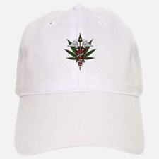 Medical Marijuana Caduceus Cap