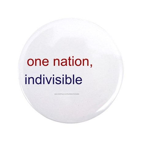 "One Nation Indivisible 3.5"" Button (100 pack)"