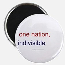One Nation Indivisible Magnet
