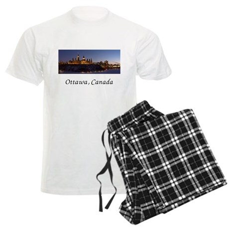 Ottawa Skyline Men's Light Pajamas
