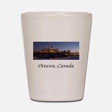 Ottawa Skyline Shot Glass