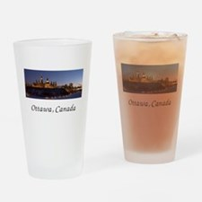Ottawa Skyline Drinking Glass