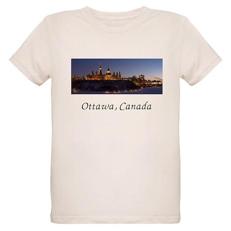 Ottawa Skyline Organic Kids T-Shirt