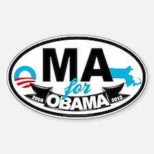 Massachusetts for Obama 2012 Decal