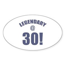 Legendary At 30 Decal