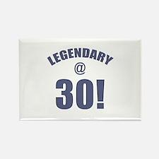 Legendary At 30 Rectangle Magnet
