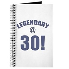 Legendary At 30 Journal